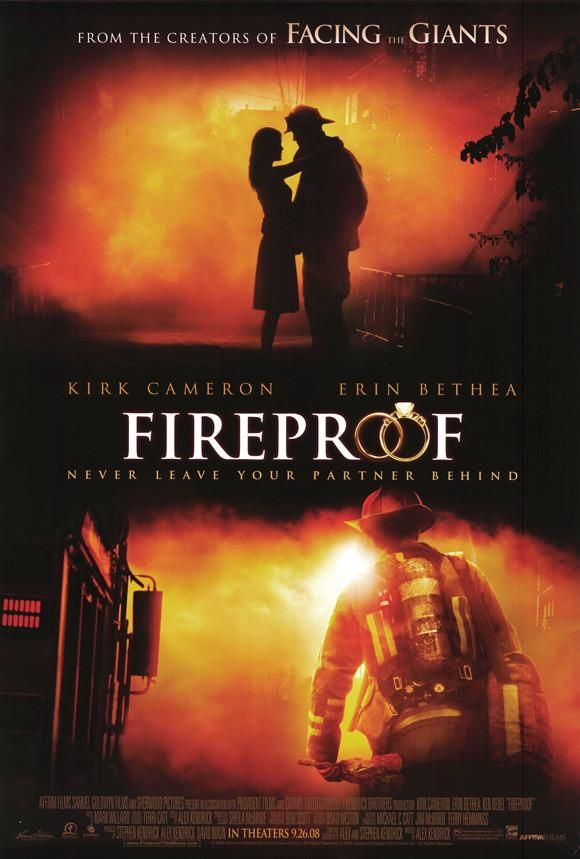 Fireproof 27x40 Movie Poster 2008 With Images Inspirational