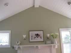 Image Result For Beadboard On Vaulted Ceiling Living Room