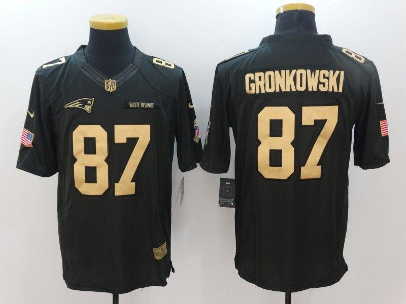 ... discount code for nfl mens new england patriots 87 rob gronkowski black jersey  football jerseys 73525 85c372906
