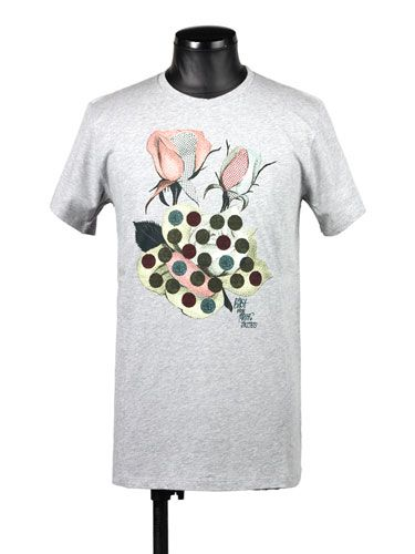 Flower print T-shirts:MARC JACOBS