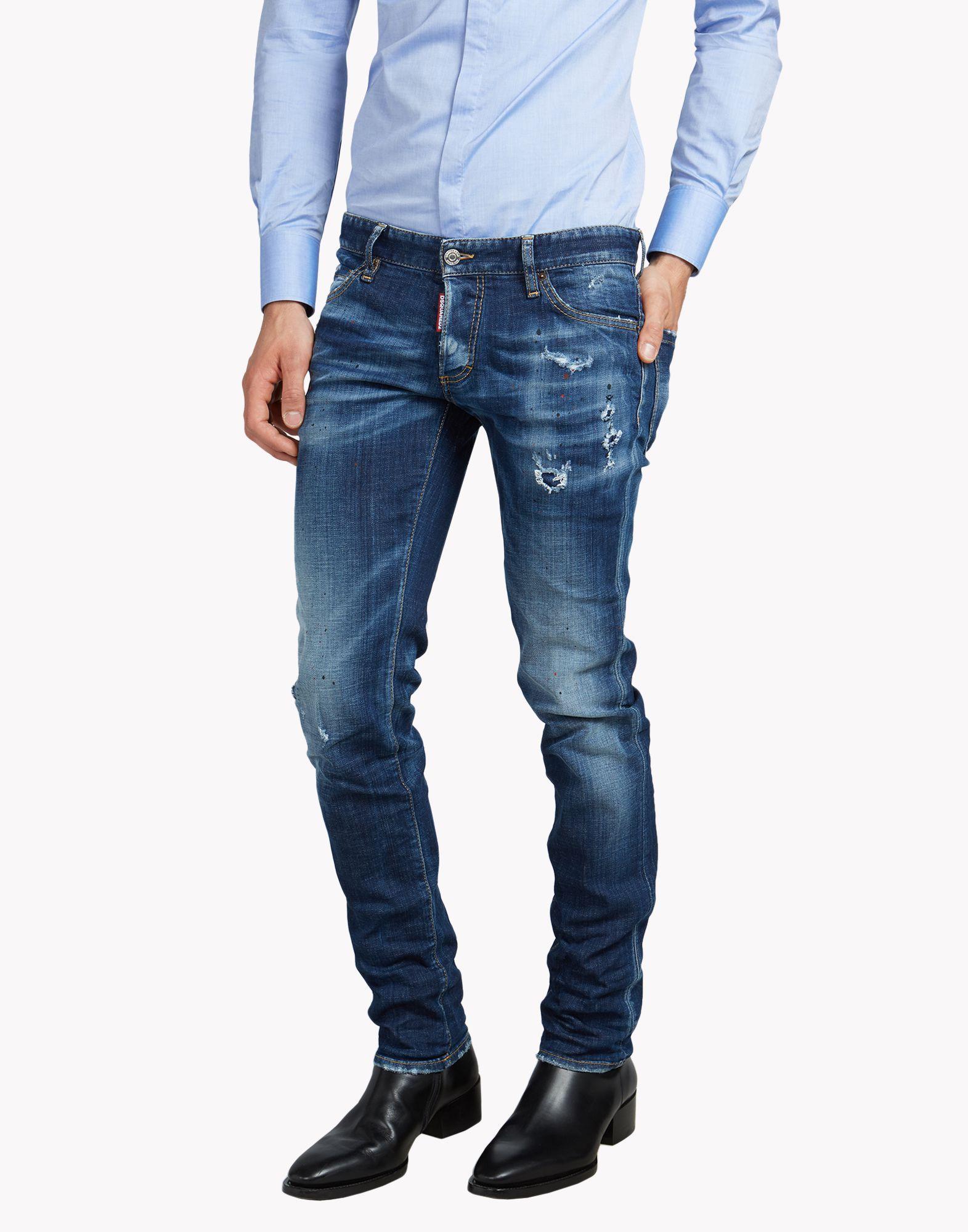 717619fdfe Slim Jeans - 5 Bolsillos Hombre en la tienda online oficial de Dsquared2