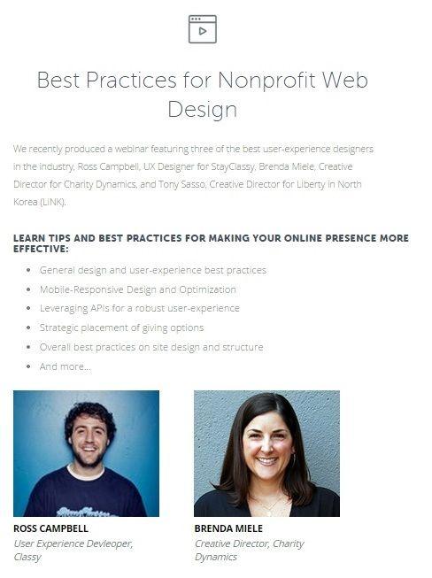 Nonprofit Web Design Web Design Nonprofit Web Design Non Profit