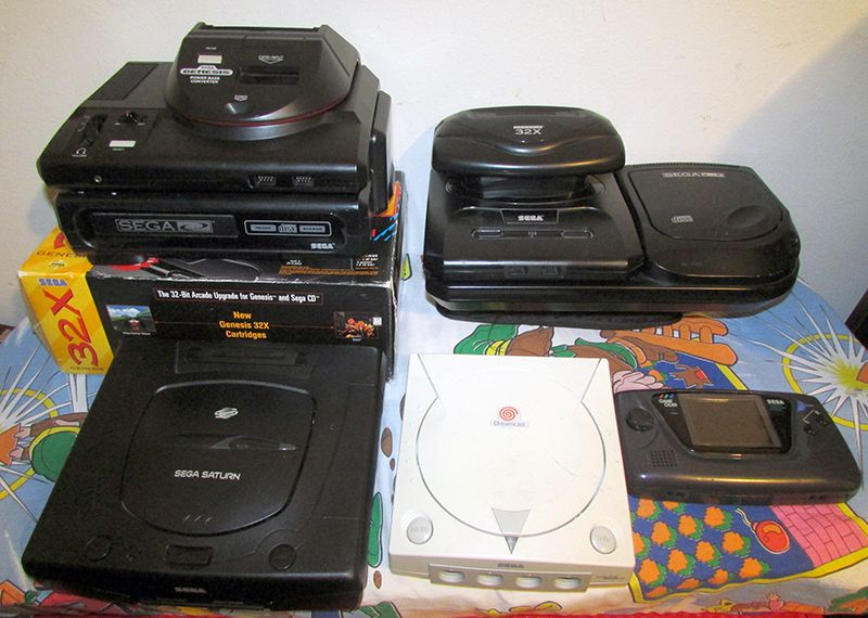 Console Collection, 2013 - Sega: Genesis (Models 1 2), Sega CD
