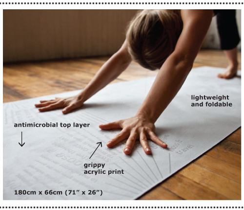 A Glimpse At New Gear The Towel Mat Foldable Yoga Mat Yogi Times Lululemon