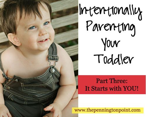 Great advice from a well-seasoned mom on parenting your toddler.