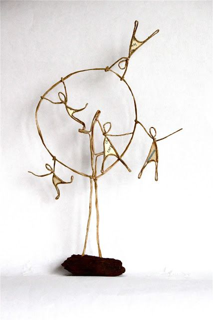 Epistyle   Muñecos articulados SucDC   Pinterest   Wire art, Craft ...