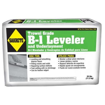 Sakrete 25 Lb B 1 Leveler 65550060 The Home Depot Gfci Concrete Mixes The Home Depot