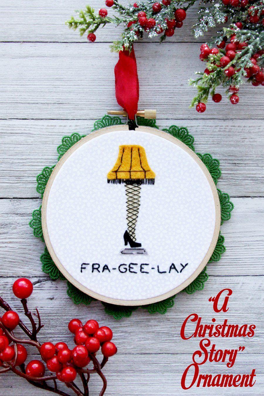 A Christmas Story Leg Lamp Ornament Christmas Story Leg Lamp A Christmas Story Christmas Ornaments