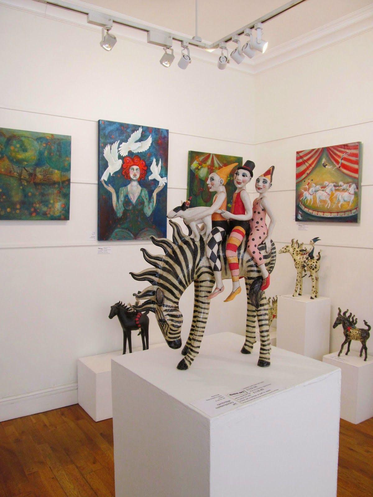 Marie Prett - Solo show at Cambridge Contemporary Art