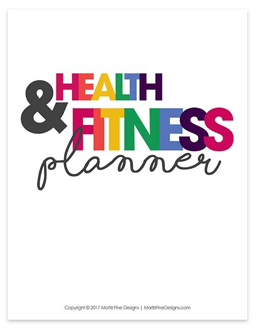 "The Health & Fitness Planner is perfect way to help anyone keep track all things food and fitness related in order to maintain, meet or exceed their goals. A total or 19 printable pages are included in the digital file (size 8.5""x11""), see details of each page below in the product description. This is a digital, printable pdf file only. No physical product will be sent to you. You will need a PDF reader (Adobe can be downloaded for free from their website) for viewing and prin..."