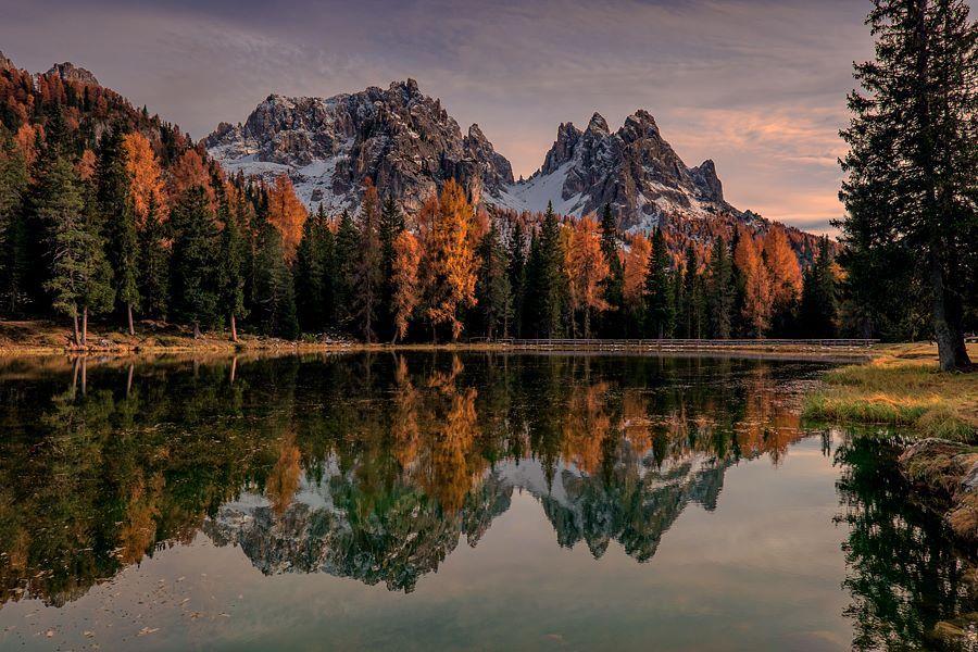 Michele Galante Lago di Antorno - Dolomiti, Italy