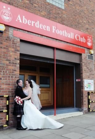 Aberdeen Football Club Is A Stunning And Unusual Wedding Venue Which Boasts Seated Capacity Of