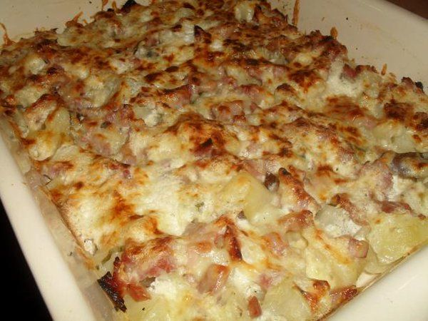 Ham and Potato Casserole - http://goo.gl/oEkGPQ