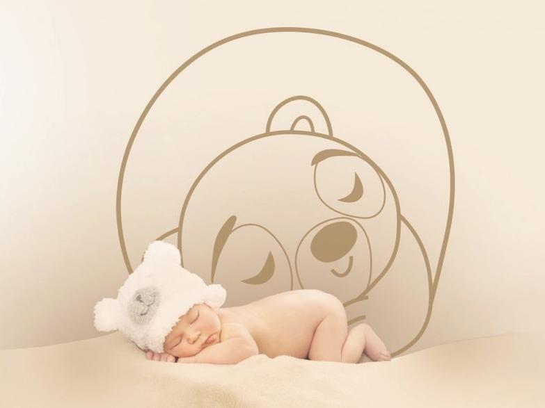 sticker sweet dream o urso