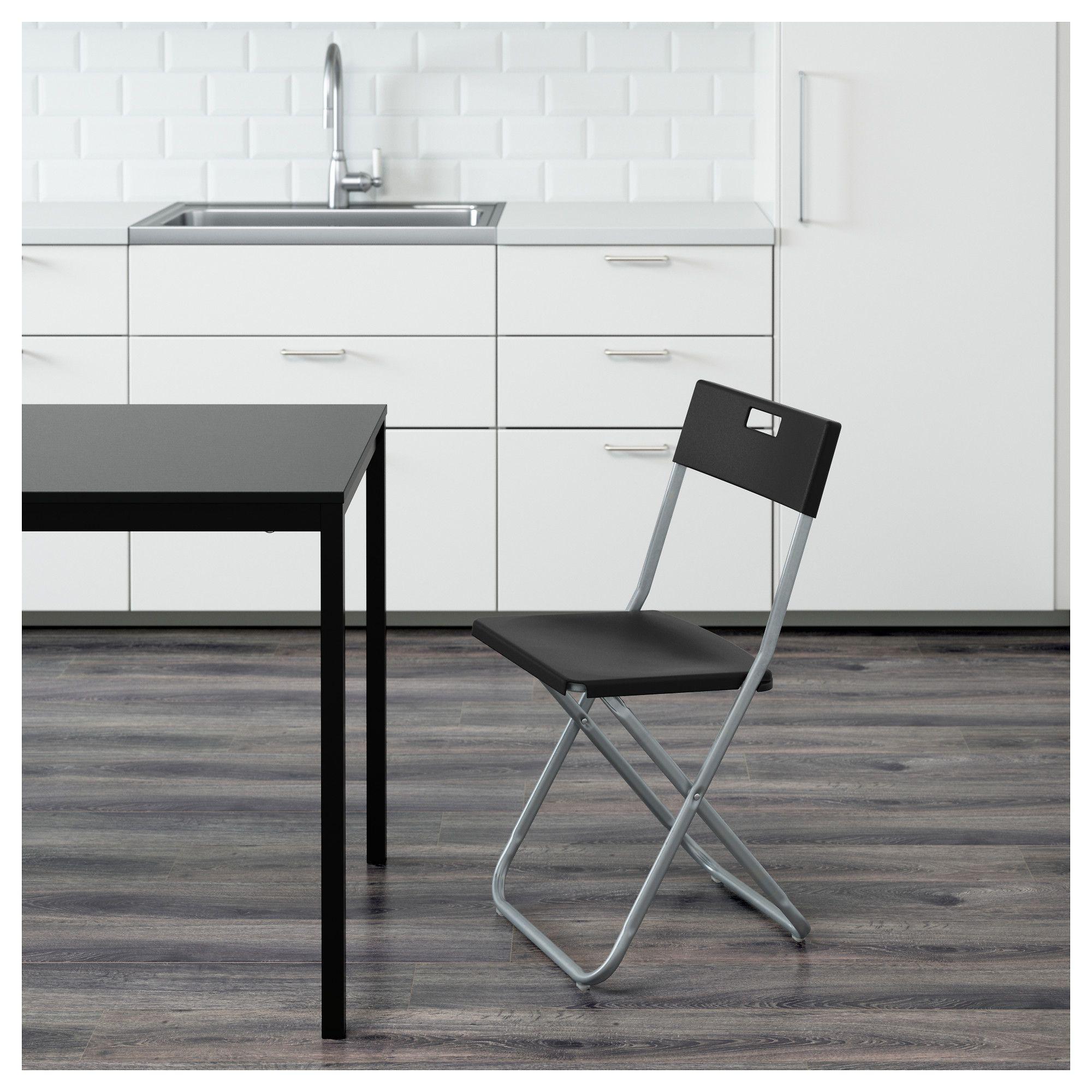 Gunde Folding Chair Black Ikea Folding Chair Ikea Folding