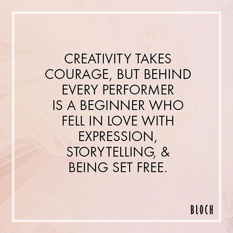 Morning #Motivation: Creativity Takes Courage, But Behind