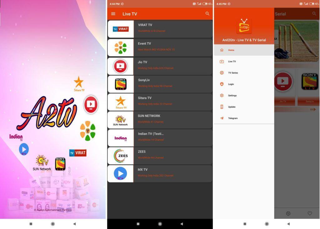 Anil2Gtv v1.0.4 Live Tv Android App Download Anil2Gtv