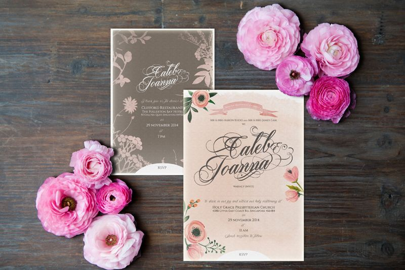 All about customised wedding invitations with pearlyn and paper customised wedding invitations pearlyn and paper wedding stationery singapore stopboris Gallery