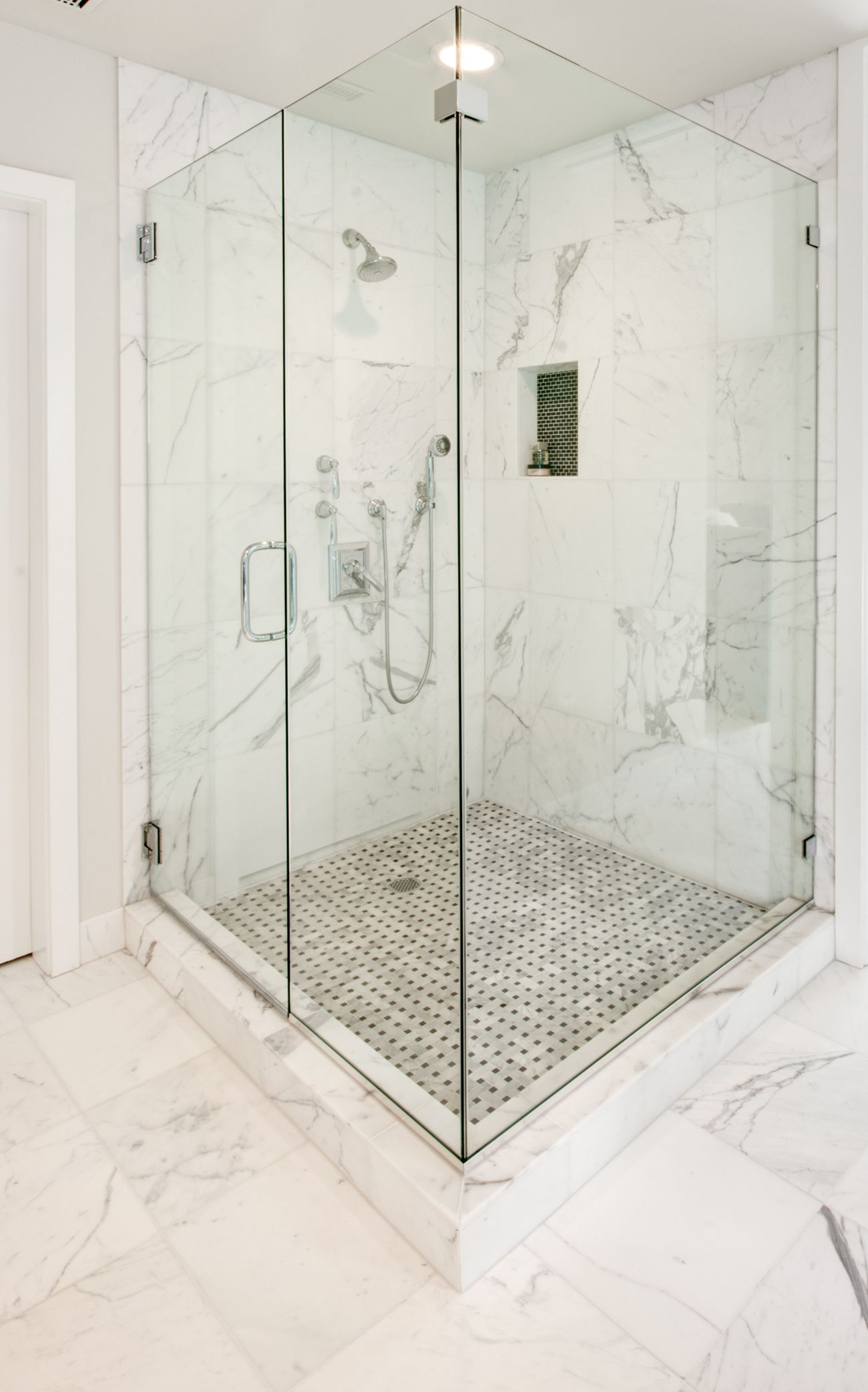 Marble Looking Tile These Five Bathroom Remodels Showcase Diverse Bathroom Tile Ideas .