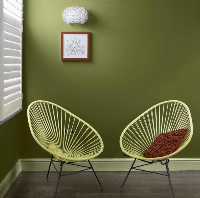 Aktuelle Wohnfarben und Wandfarben Trends für 2017 | Greenery and ...