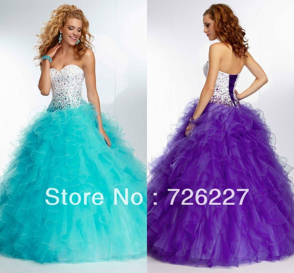 Encantador Tiffany Vestido Azul Damas De Honor Modelo - Vestido de ...
