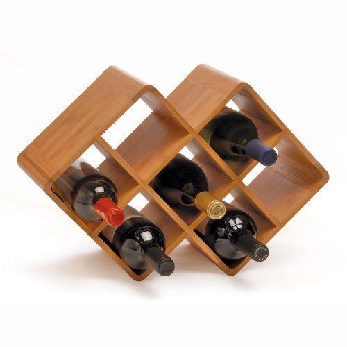 36 15 45 99 This New Bamboo Wine Rack From Oenophilia Is Part Of