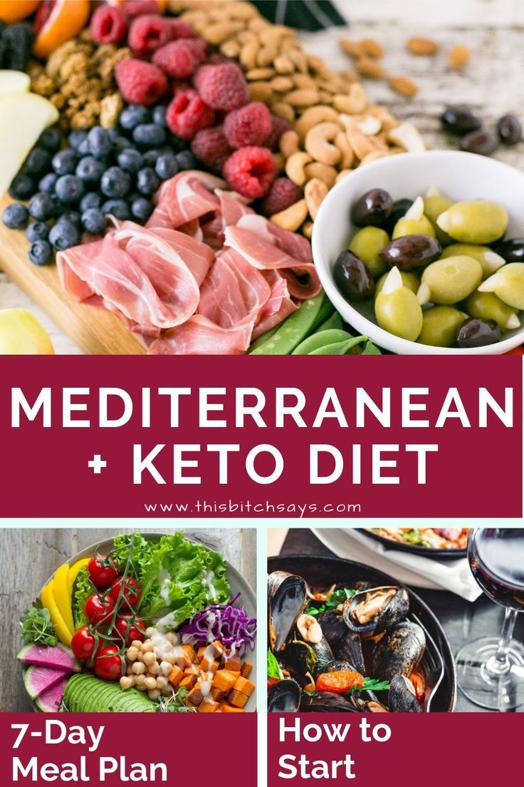 The Mediterranean Keto Diet [What to Eat & 7-Day Meal Plan]