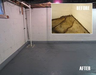 Before And After Project : DIY Basement Waterproofing With SquidGee Dry  System.