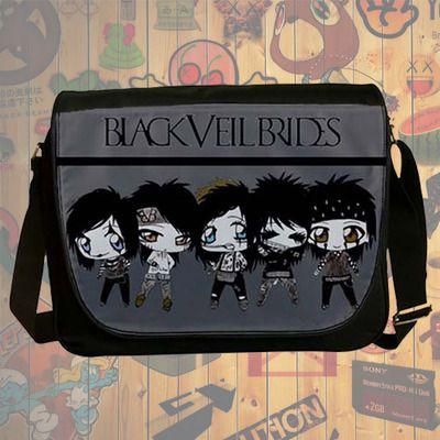 NEW HOT!!! Black Veil Brides Messenger Bag, Laptop Bag, School Bag, Sling Bag for Gifts & Fans #04
