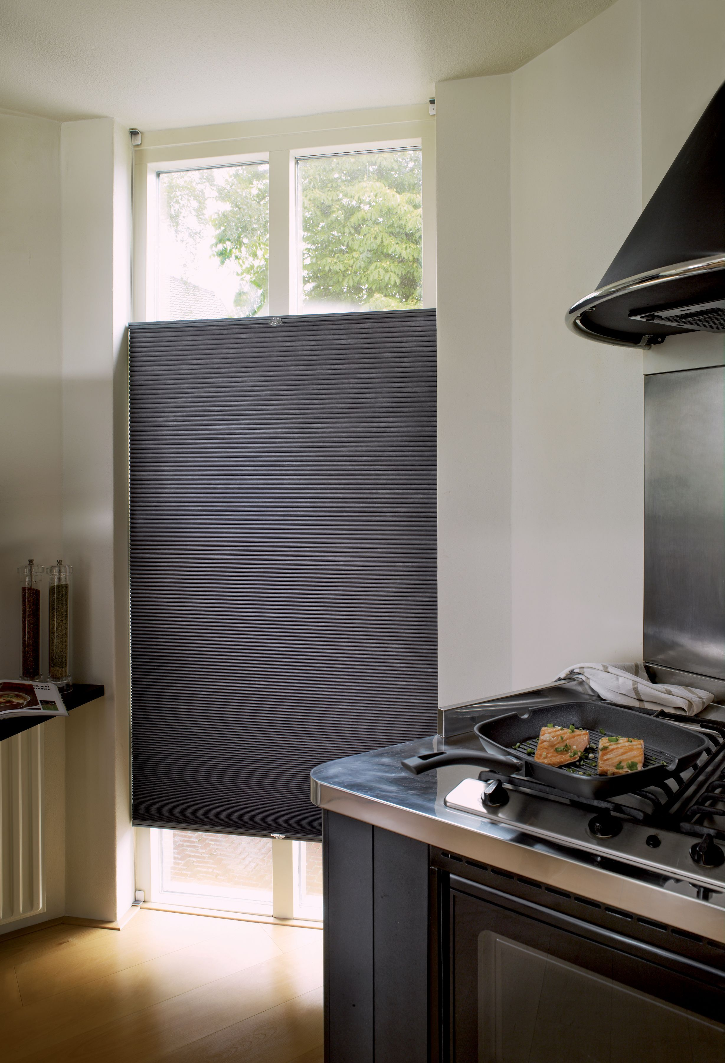 Kitchen window kitchen blinds  duette energy saving blinds for the kitchen kitchen inspiration