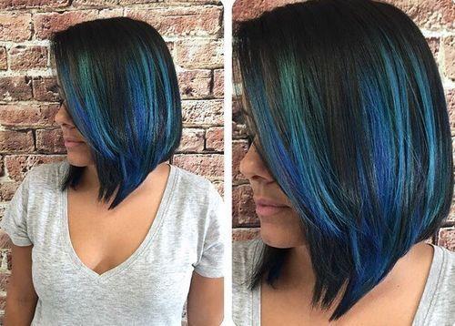 20 Stylish Striking Blue Hairstyles //  #Blue #Hairstyles #Striking #Stylish