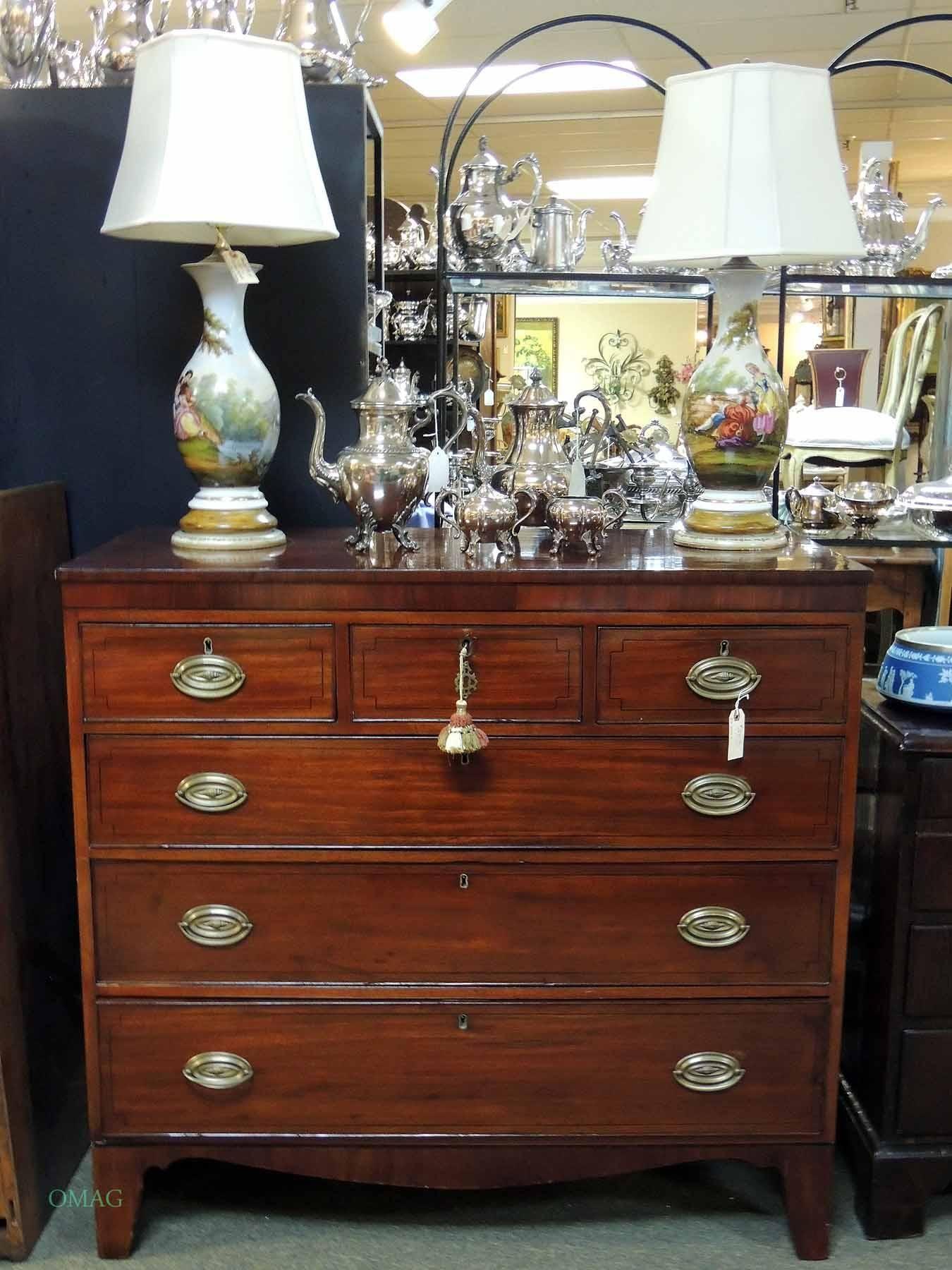 Best Plum Pudding Mahogany Dresser Olde Mobile Antique 400 x 300