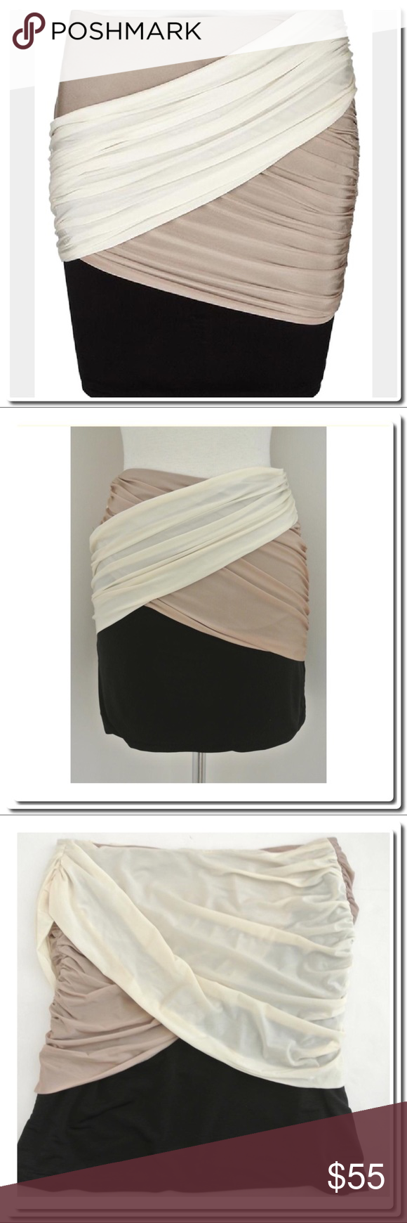 All Saints Rianne Bodycon Skirt All Saints draped jersey Rianne Skirt-stretchy  Bodycon fit with c77d2a6ea