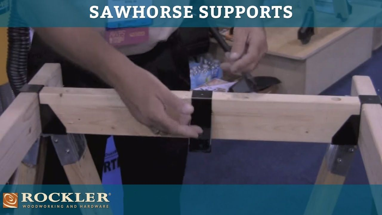 Sawhorse Supports at AWFS 2011 Presented by Woodworker's