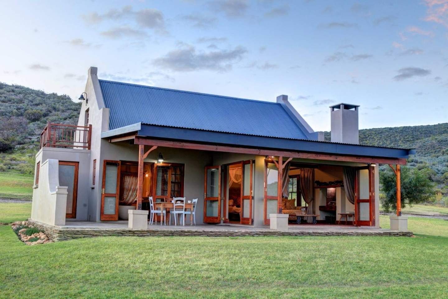 Exterior Farm Style House House Plans South Africa African House