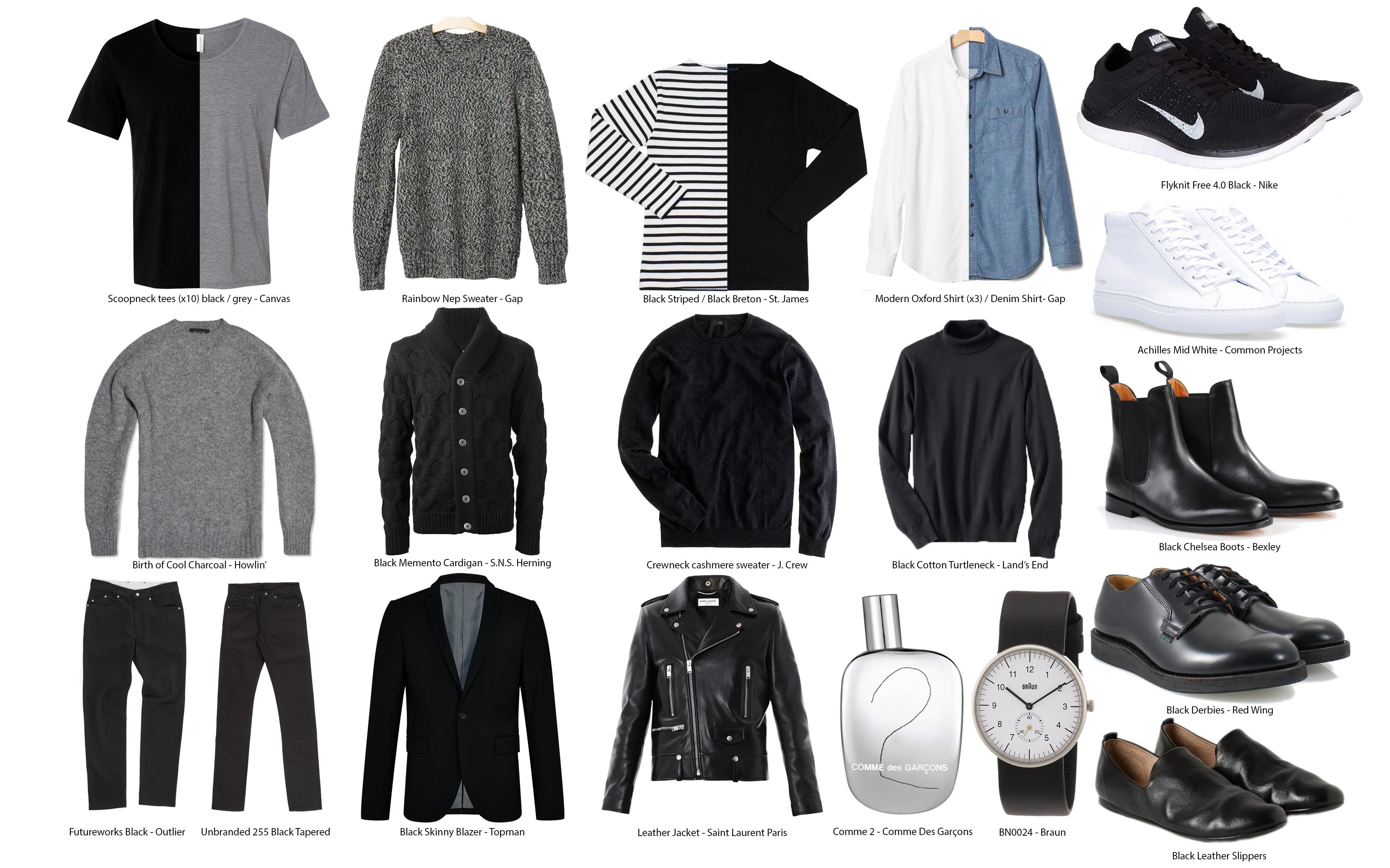 480 points and 145 comments so far on reddit capsule on extraordinary clever minimalist wardrobe ideas id=65696
