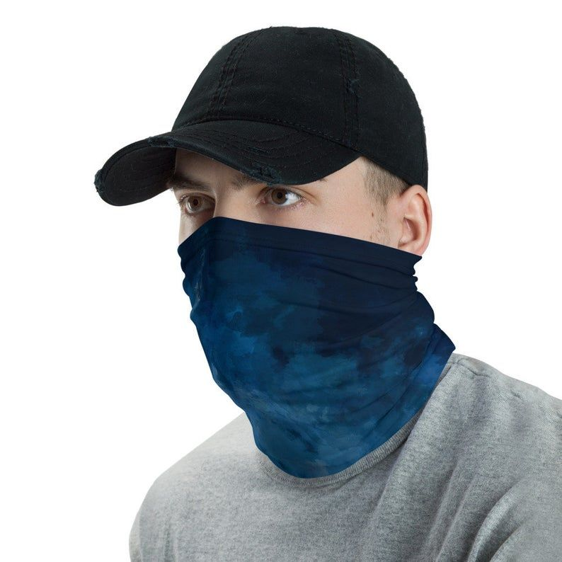 Mask made in usa Neck Gaiter mens face mask face mask neck   Etsy   Neck  gaiter, Blue face mask, Neck warmer