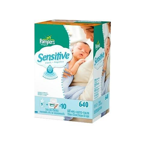 Pampers Soft Care Sensitive Baby Wipes Tub Plus Refills 640 Count Purchased We Only Use These For Trav Baby Items Must Have Pampers Wipes