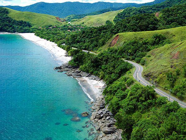 Santiago Beach Sao Sebastiao Sp Com Imagens Praias Do