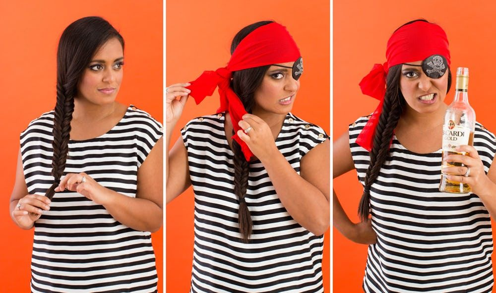 How to Make the Easiest Pirate Costume Ever #diypiratecostumeforkids