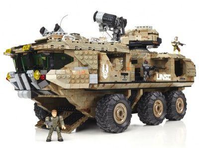 Mega Bloks Halo UNSC Mammoth 97174   I love this toys   Lego