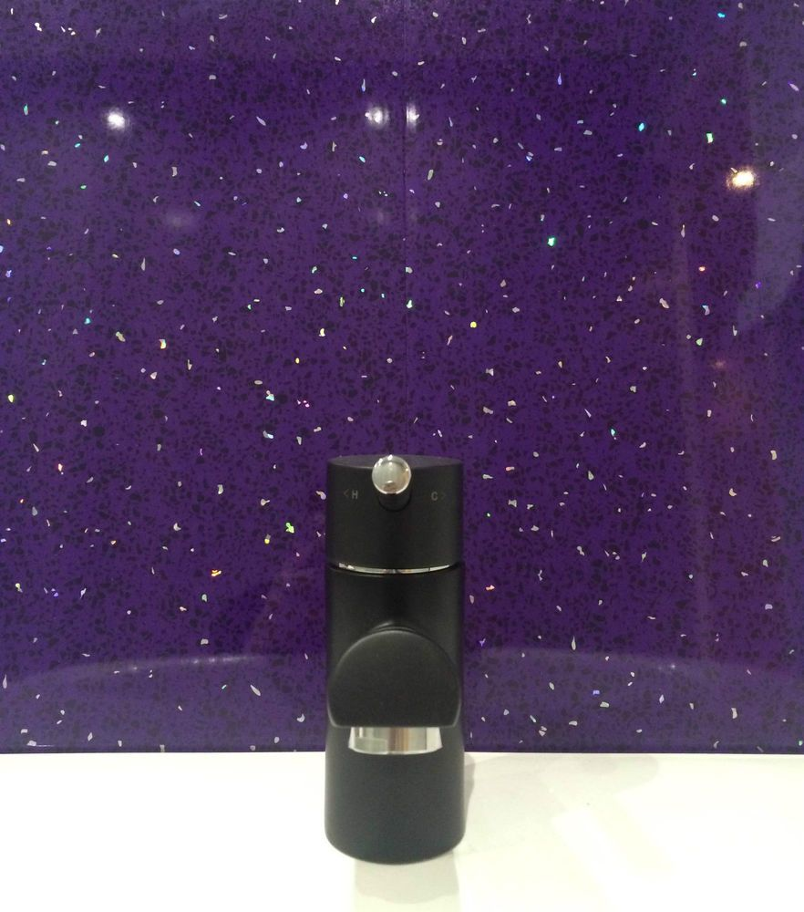details about purple sparkle pvc cladding bathroom shower on shower wall panels id=19322
