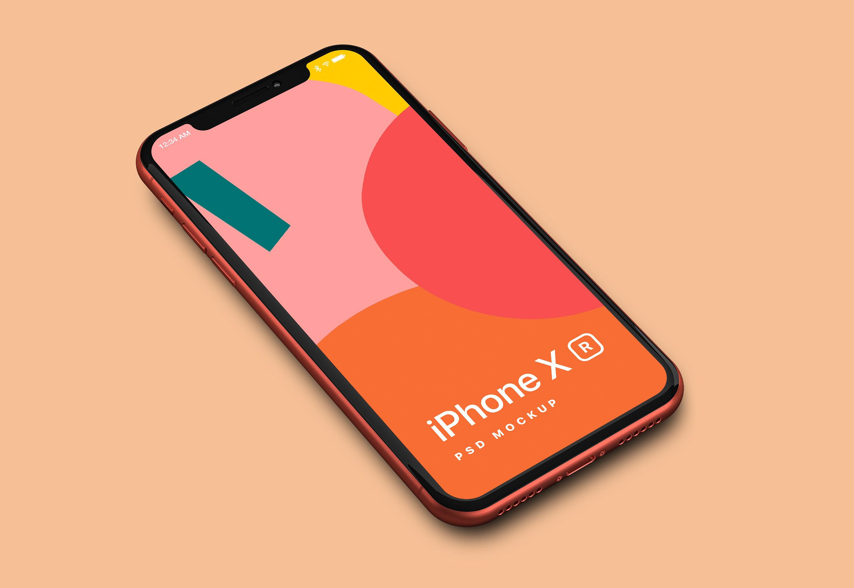 A high resolution mockup of Apple iPhone XR
