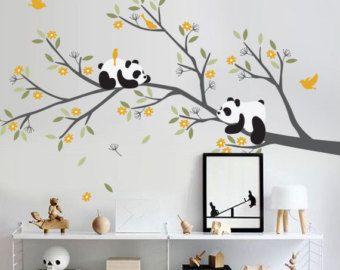 Sticker - décoration murale de chambre d\'enfant arbre mural de ...