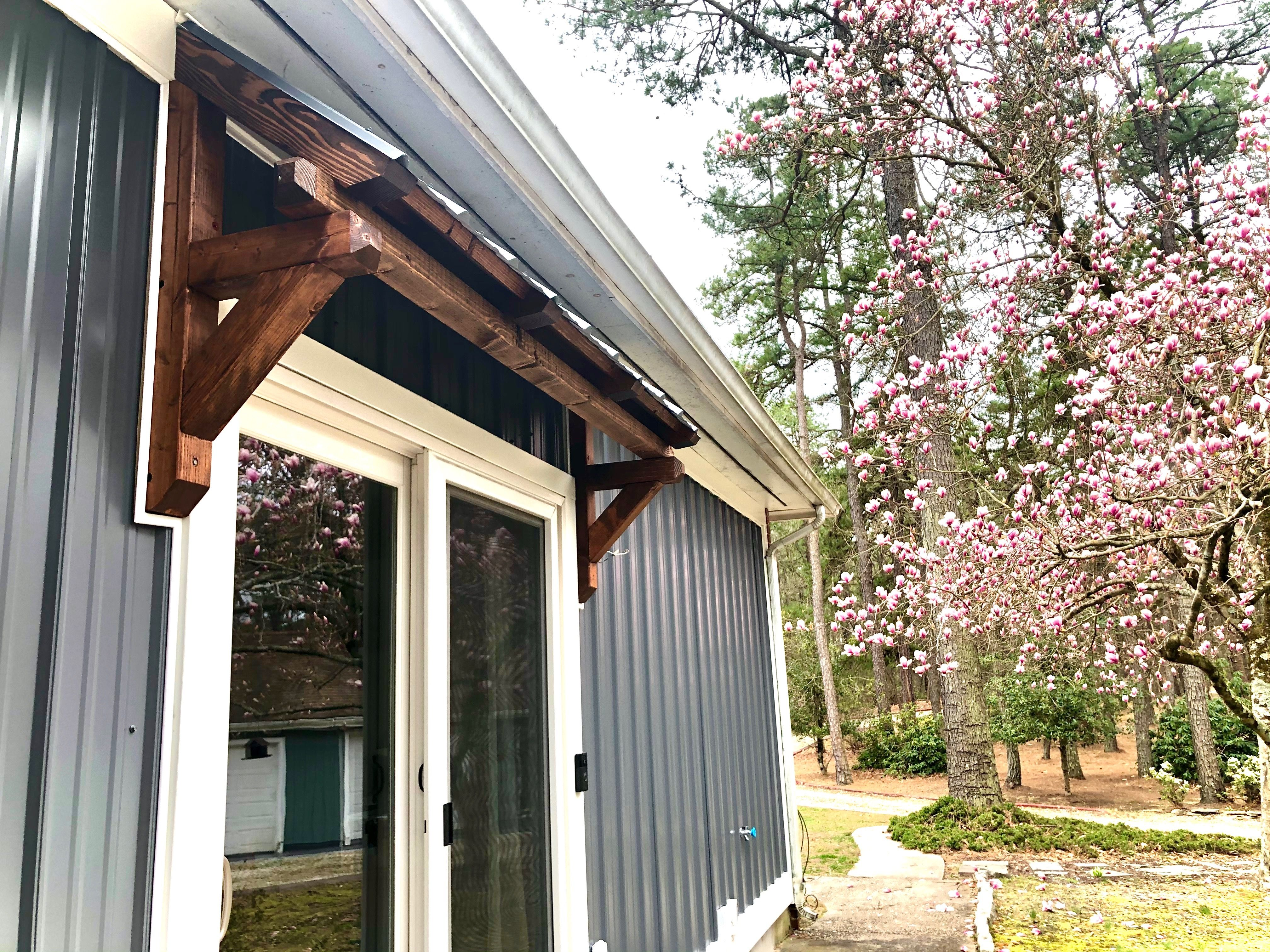 Awning Over Door In 2020 Metal Shed Roof Awning Over Door Patio Awning