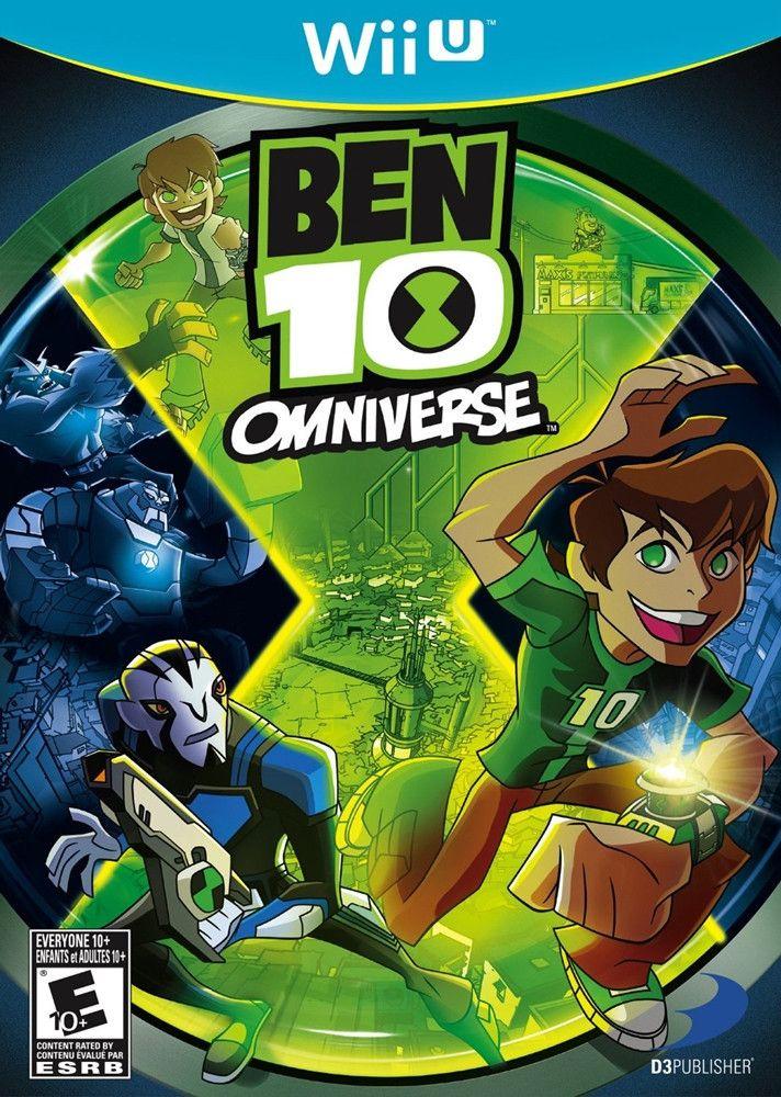 Ben 10 Omniverse Wii U Game Ben 10 Omniverse Ben 10 Wii Games