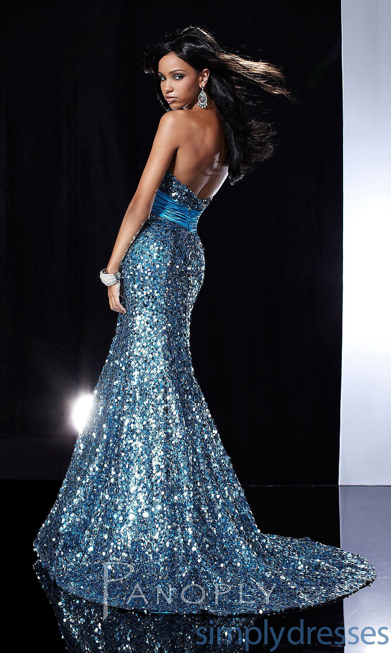 If i could afford it, man....Floor Length Strapless Sweetheart PA ...