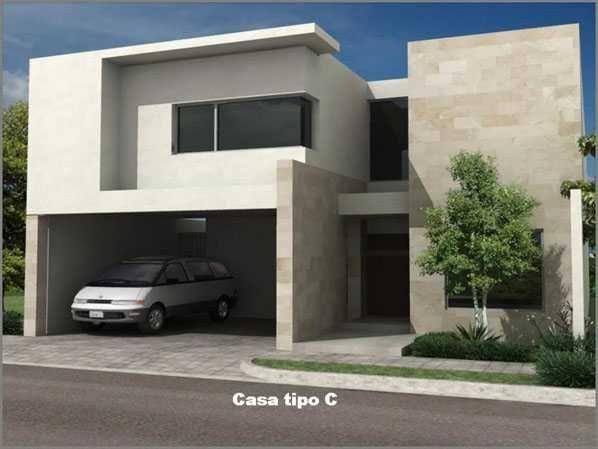 Home decore house fachada casa mexico for Casas tipo minimalista