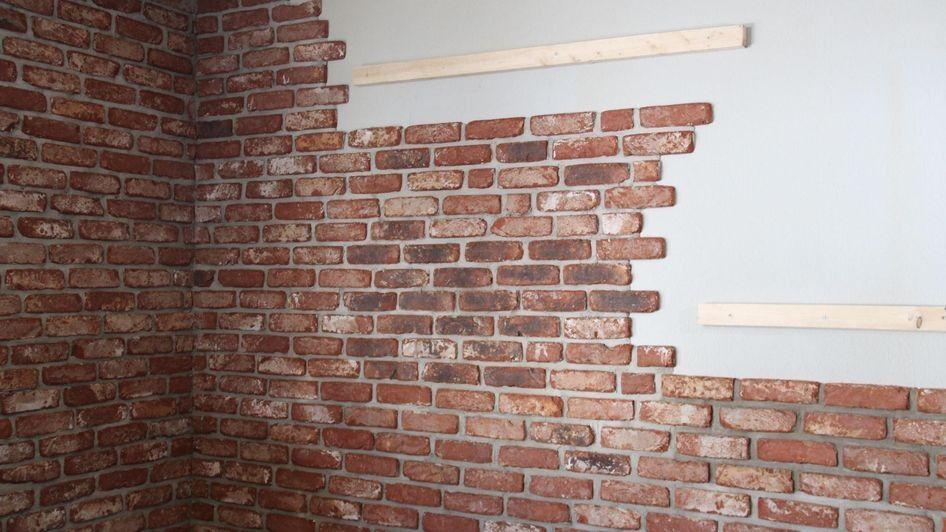 Fliesenspiegel in backsteinoptik interior - Backsteinwand imitat ...