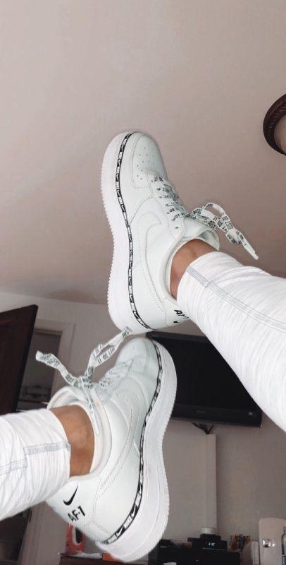 Pin by Yesiaustin on Sneakers | White nike shoes, White nike